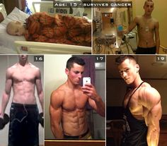 Share this transformation! Wow! ❤ツ HATS OFF TO THIS AWESOME CANCER SURVIVOR!!! www.youtube.com/novoic #barbrothers