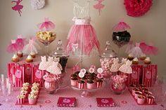 Festa, Sabor & Decoração: Festas cor-de-rosa
