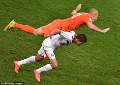 Brasil 2014: Netherlands v/s Costa Rica Photos | Football Wallpapers