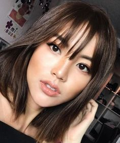 20 Cute Hairstyles with Bangs For This Year