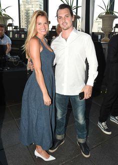 Laura Vassar with Kristopher Brock.