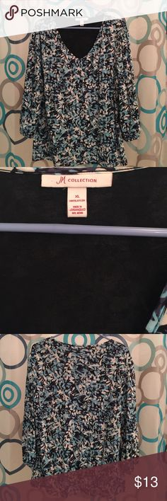 JM Collection top nice XL comfy Top XL new long sleeve J.M. Collection  Tops