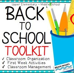 Over 75 pages of classroom management resources, first week of school activities, classroom set-up ideas and tools, and year-long documents. Start your school year off right!