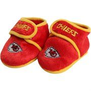 Kansas City Chiefs Infant Plush Slippers - Red