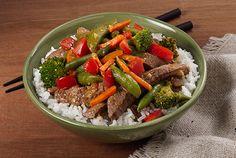 Broccoli and Beef Stir-Fry - Kidney-Friendly Recipes - DaVita