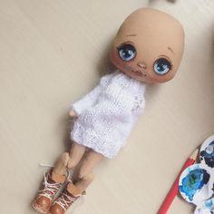 Немного процесса, вот такая новая куколка, новая выкройка;) #куклаолли #кукла #олли