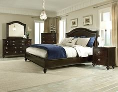 Ashley Key Town King Poster Bed Clearance Outlet Raleigh Furniture Home Comfort Furniture