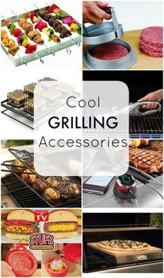 Super cool grilling accessories - the perfect Father's Day gift!!                                                                                                                                                     More