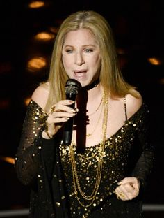 Barbra Streisand Photos - Singer/actress Barbra Streisand performs onstage during the Oscars held at the Dolby Theatre on February 2013 in Hollywood, California. - Annual Academy Awards - Show Oscars 2013, Soundtrack To My Life, Barbra Streisand, A Star Is Born, Academy Awards, Show Photos, Hello Gorgeous, Female Singers, Celebs