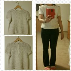 Cream top Perfect condition  No stain or rip  Handwash cold  Line dry It will fit small -medium no brand Tops Crop Tops