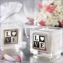candle wedding gift for guest
