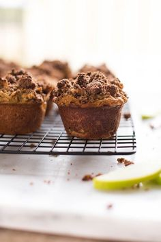 Paleo Apple Crunch Muffins + A Look Back At A Sweet Pea Chef