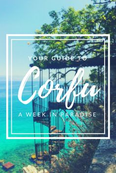 Your guide for the best; most instagram worthy, spots in Corfu Greece.