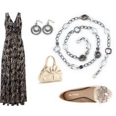 """Sephira black dress http://carolyn.mialisia.com/"" by carolyn-keeler-woodburn on Polyvore"