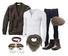 """Winter Men's Fashion"" by keri-cruz ❤ liked on Polyvore featuring Brave Soul, Jack & Jones, Gucci, J.Crew and Christian Dior"