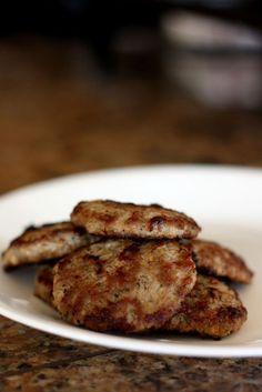 Plan to Eat - Homemade Beef Sausage Patties - christyreeder