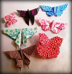 Butterfly...origami... ;-)