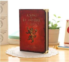 #gameofthrones #starks #westeros  #tyrionlannister #aryastark #branstark #kingjoffrey #cersei #WinterIsComing Free Shipping Game of Thrones Notebooks Vintage Hardcover Notebook for Gift Movie A Song of Ice and Fire