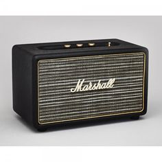 Marshall Acton Wireless Bluetooth Speaker Black