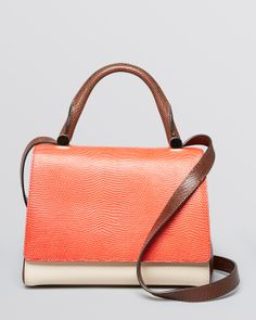 Perfect Max Mara Colorblock Satchel