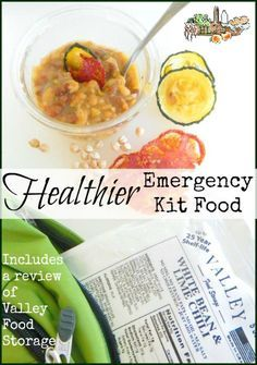 Healthier 72 Hour Kit and Backpacking Food l Includes a Review of Valley Food Storage l Homestead Lady (.com)
