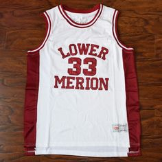 bb274a7949b Kobe Bryant  33 Lower Merion High School Basketball Jersey Stitched