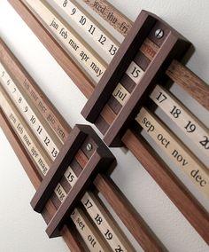 Calendario Bilancia by Enzo Mari
