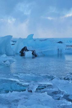Let Mother Nature take your breath away at Jokulsarlon Lagoon in Iceland.
