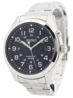 Watch Direct - SEIKO KINETIC BLACK DIAL 100M SKA721 MEN'S WATCH, $260.00 (https://watchdirect.com.au/seiko-kinetic-black-dial-100m-ska721-mens-watch.html)
