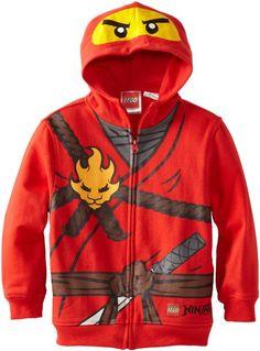 Amazon.com: Lego Ninjago Boys 2-7 Hoodie: Clothing