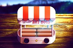 cooking machine hotdogs electric ios icon