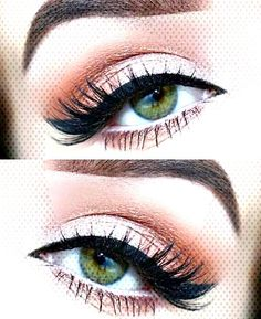 Maquillage Yeux Description MakeupYou can find How to make a black eye with makeup and more on our website. Makeup Looks For Green Eyes, Pretty Eye Makeup, Pretty Eyes, Under Eye Makeup, Winged Liner, Eyeliner, Make Up, Product Description, Website
