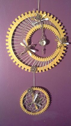 Hey, I found this really awesome Etsy listing at https://www.etsy.com/listing/230542477/steam-punk-key-dragonfly-dream-catcher