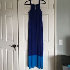 Maxi dress Super comfy maxi dress! Cute back and top detail. Worn once. Offers welcomed :) Old Navy Dresses Maxi