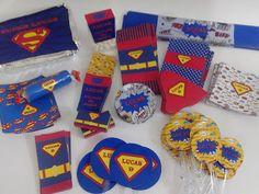 Ateliê Melana: Festa Super Homem
