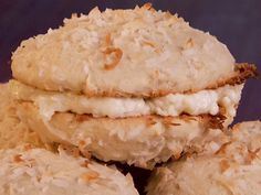 Coconut Whoopie Pies from FoodNetwork.com