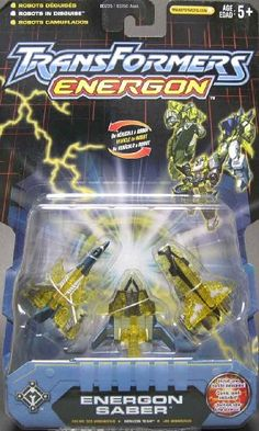 Transformers Energon ENERGON SABER mini con team Star Saber ** Click image to review more details.