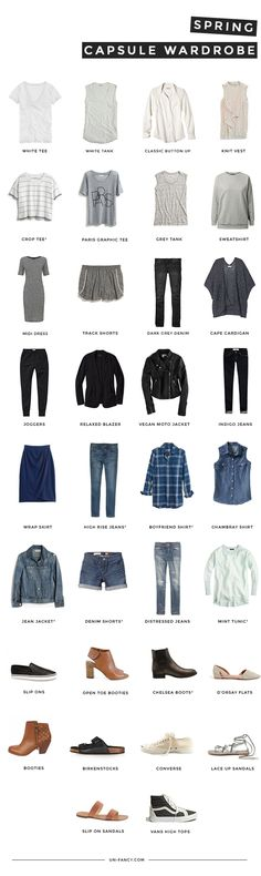 How to Create a Capsule Wardrobe (and how it will change your life!) #theeverygirl