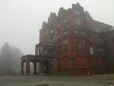 Abandoned Northampton Mental Hospital.
