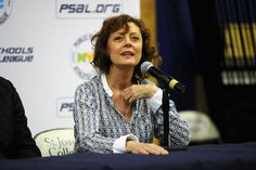 """Susan Sarandon """"I try to live my life every day in the present, and try not to turn a blind eye to injustice and need."""""""