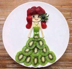 pratos de comidas criativas