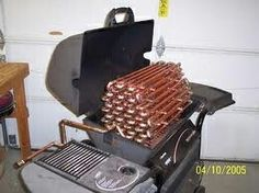 Top 10 Coolest BBQ Grills (And Then Some!) - Top 10 Coolest BBQ Grills (And Then Some!) accept this is a hillbilly pool heater! Homemade Pool Heater, Diy Pool Heater, Homemade Pools, Garage Heater, Redneck Pool, Swimming Pool Heaters, My Pool, Pool Water, Rocket Stoves