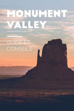 Que faire à Monument Valley ? Quels sont les plus beaux points de vue ? Où dormir ? Où manger ? Voici tous nos conseils pour préparer votre visite ! #roadtrip #usatravel #arizona #utah #monumentvalley