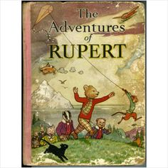 1939 Rupert Bear Annual - The Adventures of Rupert - Rare Original on eBid United Kingdom
