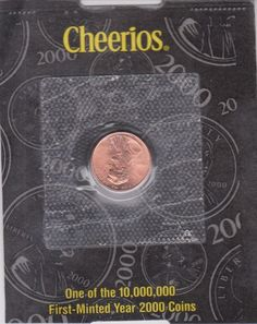 2000-P Lincoln Memorial Cent by Cheerios