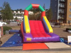 Slide at a fun day