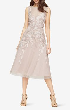 Beautiful dress to wear for a wedding.   Gustava Embroidered Dress