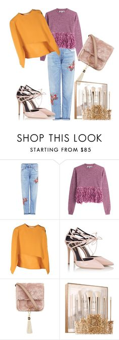 """""""close to you"""" by alenychca ❤ liked on Polyvore featuring Citizens of Humanity, McQ by Alexander McQueen, Marni, Fratelli Karida, Brother Vellies and Sephora Collection"""