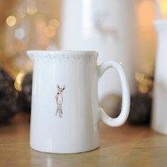 This Sophie Allport jug is the perfect place to store your milk