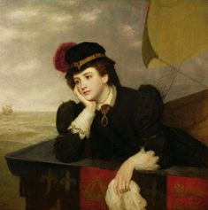 William Powell Frith - Mary Stuart Returning from France - kings-and-queens Photo